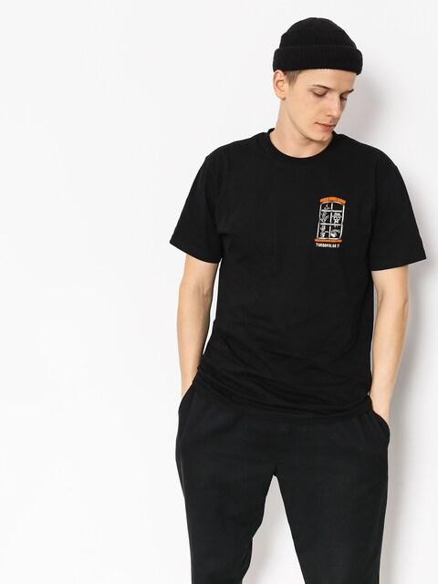 Tričko Turbokolor Window (black)