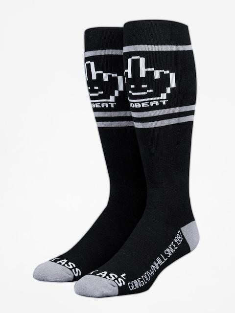 Ponožky Stinky Socks Yobeat Collab (black/grey)
