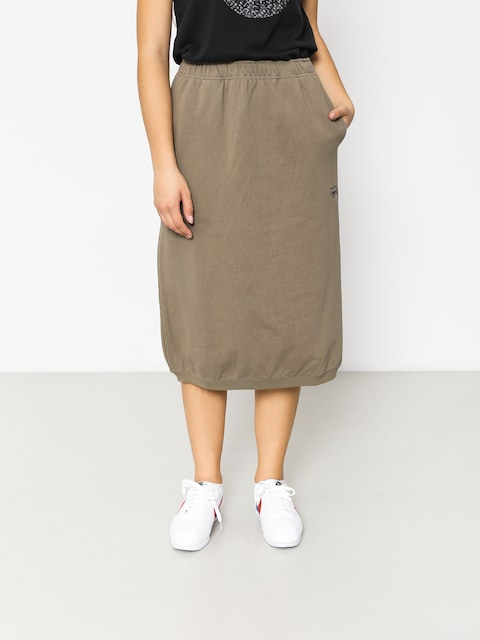 Sukňa Stussy Scout Wmn (taupe)