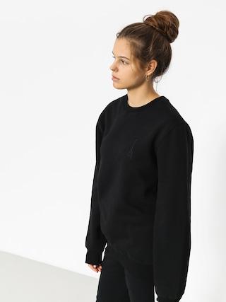Mikina Stussy Raggamon Wmn (black)