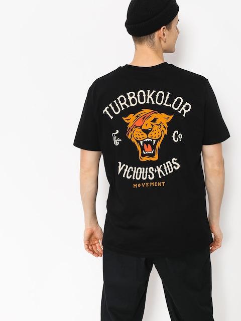 Tričko Turbokolor Vicious Kids (black)