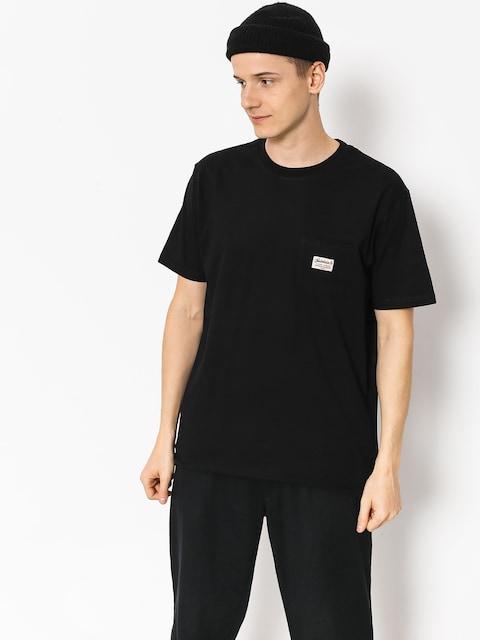 Tričko Turbokolor Tag Pocket (black)