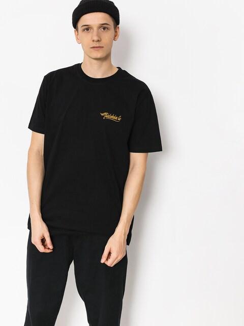 Tričko Turbokolor Embroidery (black)