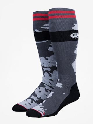 Ponožky Stinky Socks Moon (black/moon surface)