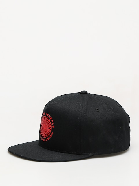 Šiltovka HUF Spitfire Swirl Snapback ZD (black)