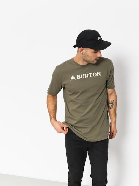 Tričko Burton Horizntl Mtn (dusty olive)