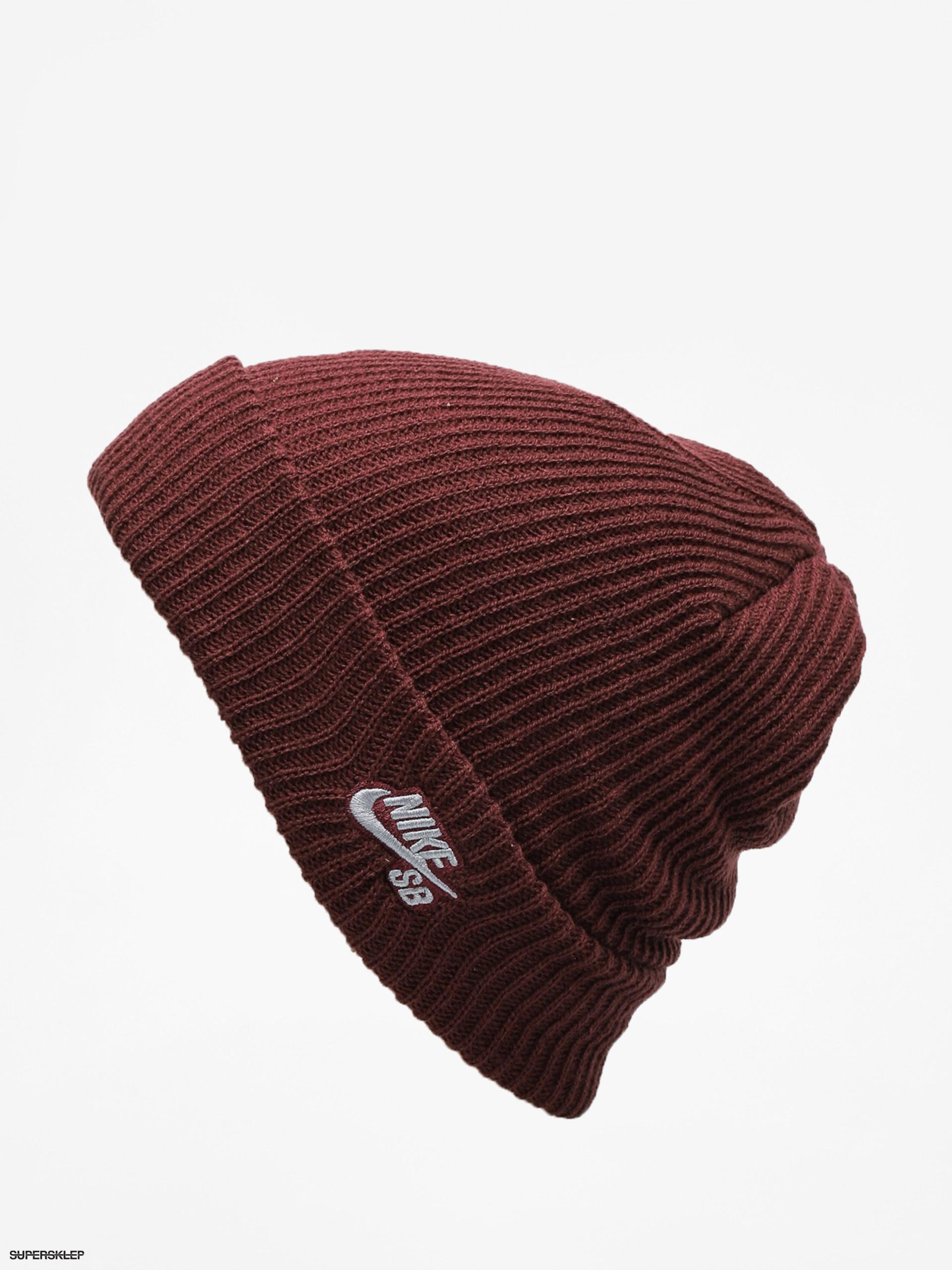 71533d565 Zimná čiapka Nike SB Sb Fisherman Beanie (burgundy crush/gunsmoke)