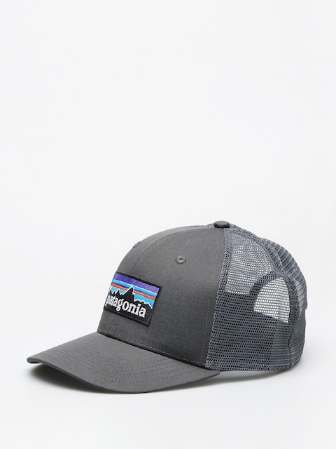 Šiltovka Patagonia P 6 Logo Trucker ZD (forge grey)