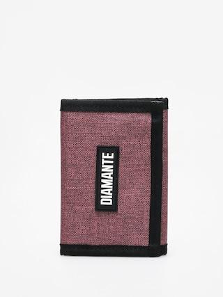 Peňaženka Diamante Wear Logo Black (oxblood)