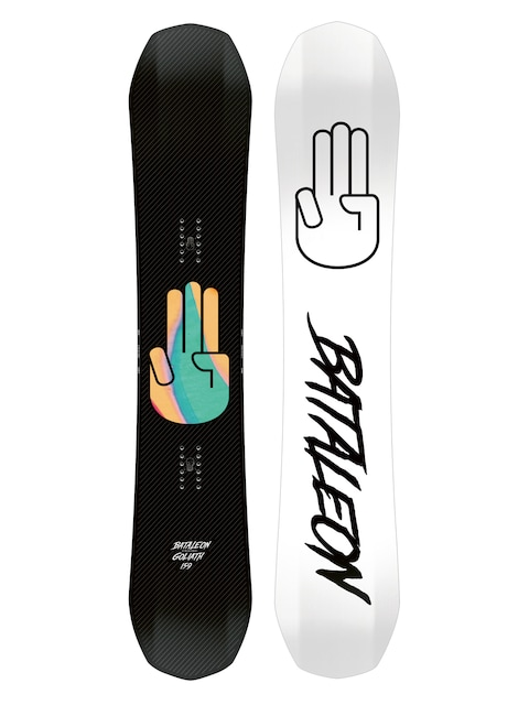 Snowboard Bataleon Goliath (white/black)