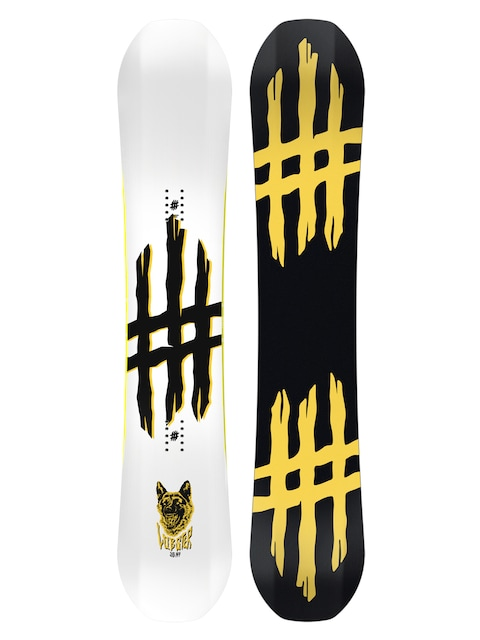 Snowboard Lobster Jib (black/yellow)