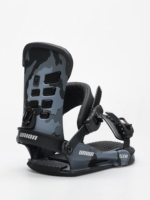 Snowboardové viazanie Union STR (black camo)