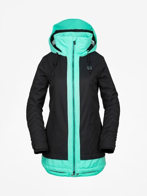 Snowboardová bunda Volcom Westland Ins Wmn (blk)