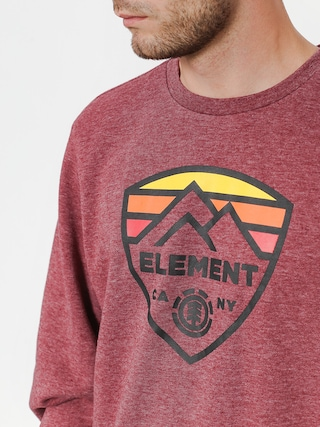 Mikina Element Guard Crew (ruby wine ht)
