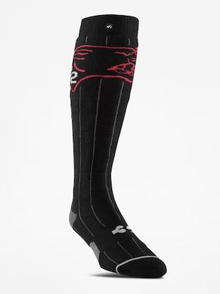 Ponožky ThirtyTwo Signature Series Asi (black)