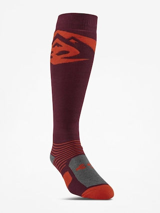 Ponožky ThirtyTwo Corp Graphic (burgundy)
