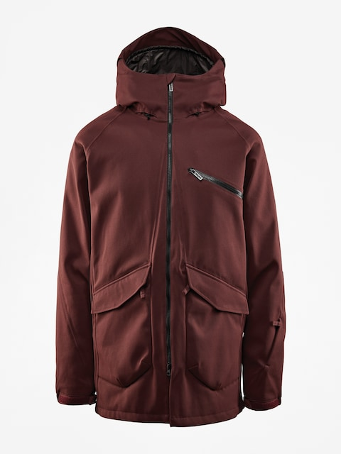 Snowboardová bunda ThirtyTwo Stash (burgundy)