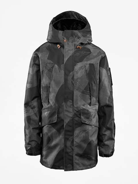 Snowboardová bunda ThirtyTwo Deep Creek (black/camo)