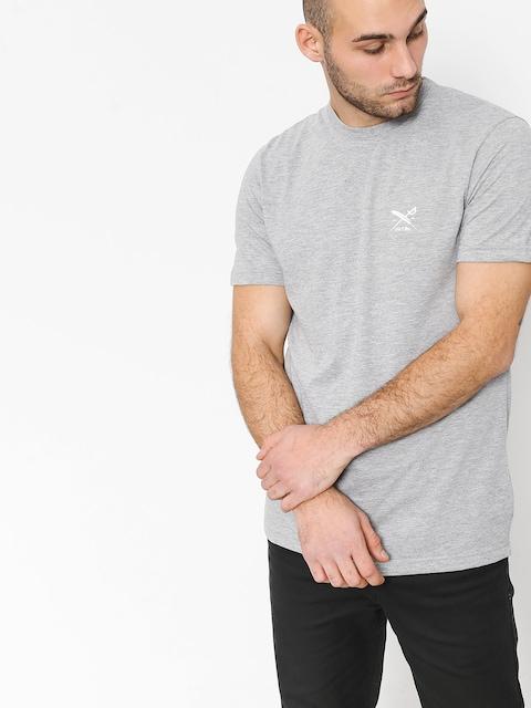 Tričko Iriedaily Chestflag (grey melange)