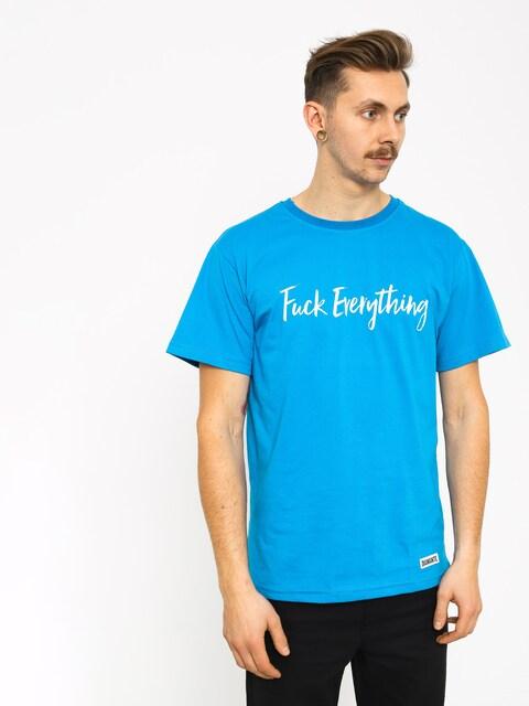 Tričko Diamante Wear Fuck Everything (blue)