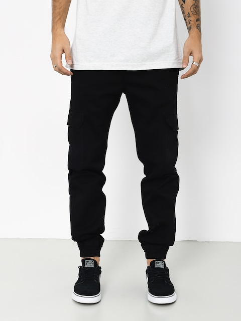 Nohavice Stoprocent New Army Joggers (black)