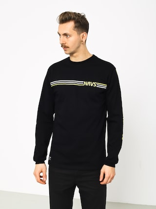 Triko Nervous Stripes (black)