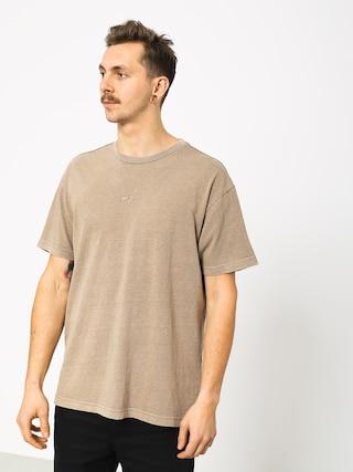 Tričko RVCA Os Pigment (dark khaki)