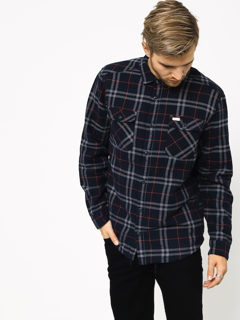 Košeľa RVCA Ar Plaid Ls (new navy)
