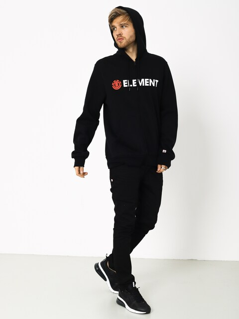 Mikina s kapucňou Element Blazin ZHD (flint black)