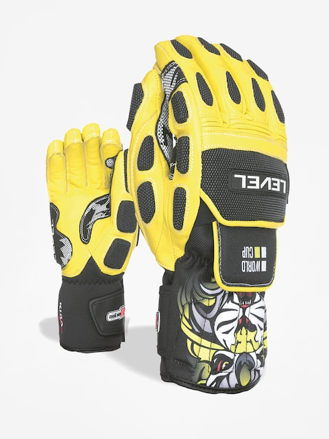 Rukavice Level Worldcup Cf (yellow)
