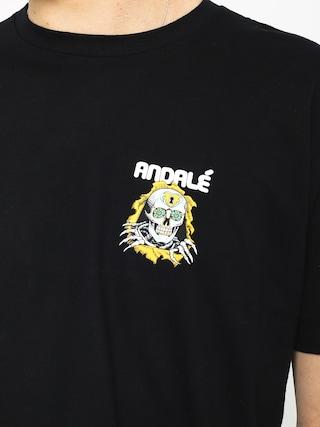 Tričko Andale Brigade Premium (black)
