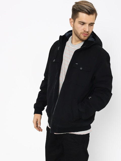 Bunda RVCA Hooded Bomber II (rvca black)