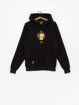 Mikina s kapucňou MassDnm Golden Chick HD (black)
