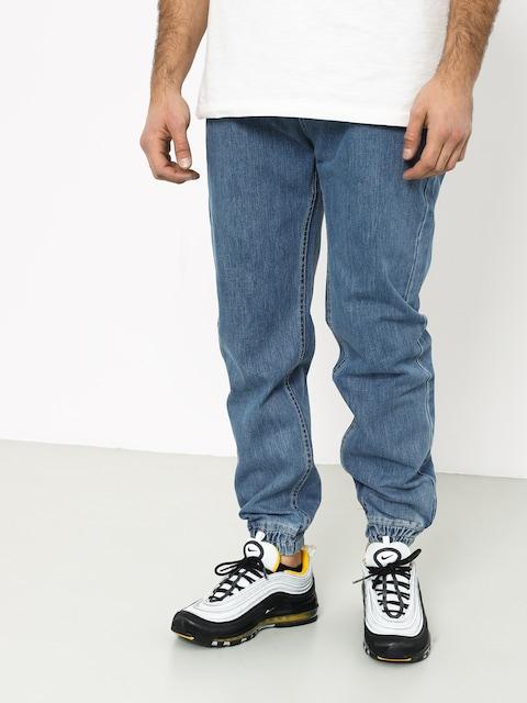 Nohavice MassDnm Signature Joggers Jeans Sneaker Fit (light blue)