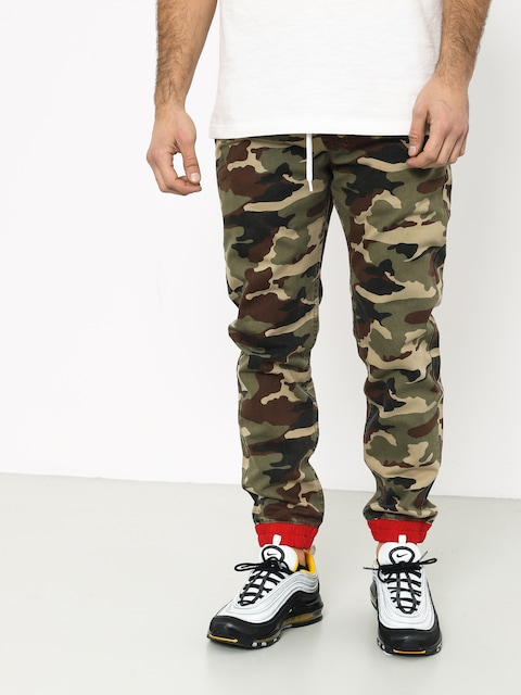 Nohavice MassDnm Truman Joggers Sneaker Fit (woodland camo)