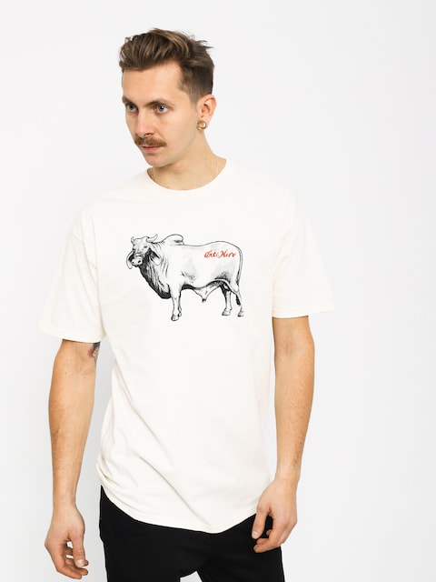 Tričko Antihero Cow (creme/black)