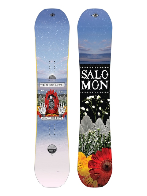 Snowboard Salomon Gypsy Classicks By Desire Wmn (multi)
