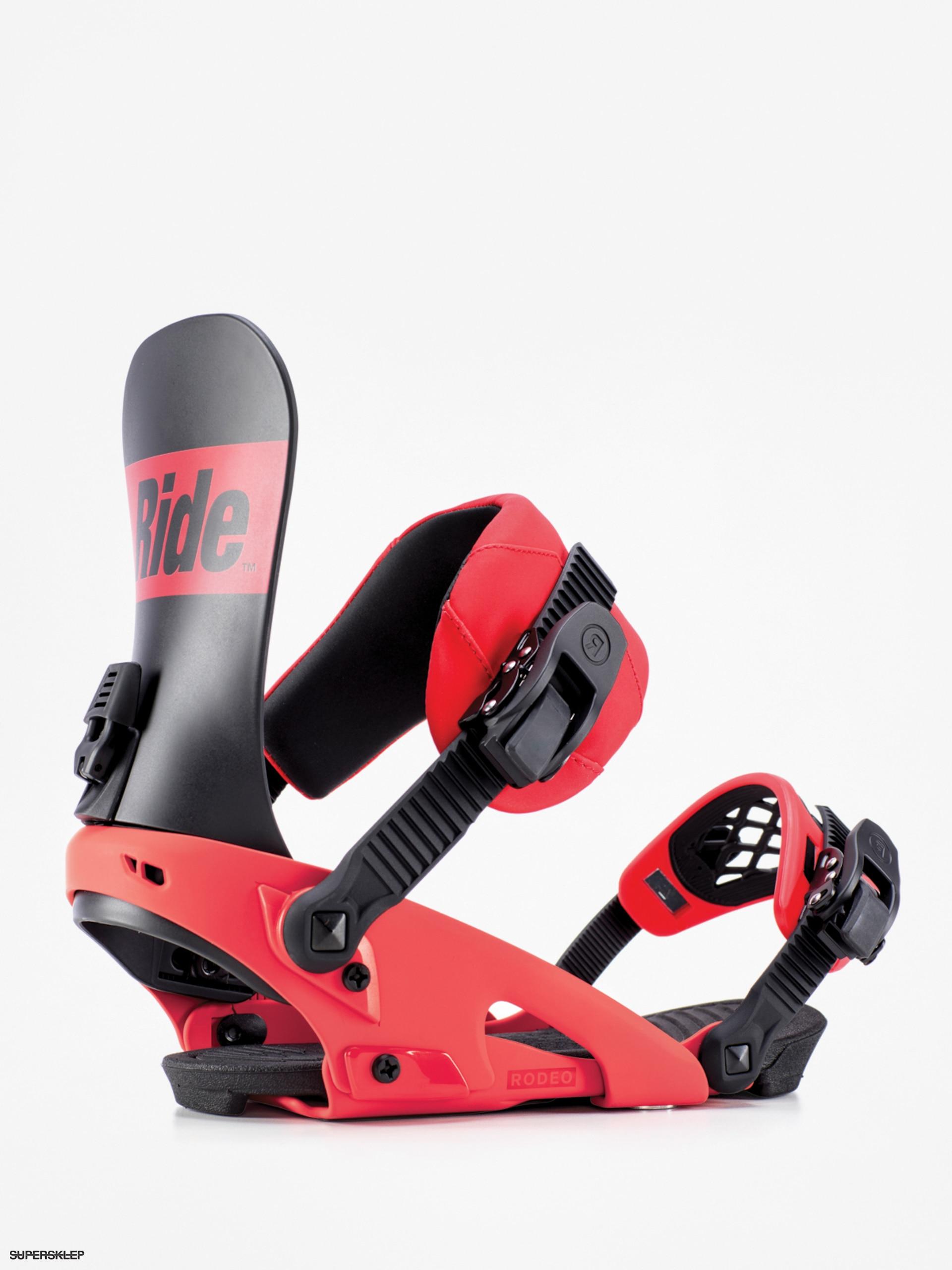 3f66399ee Snowboardové viazanie Ride Rodeo (red)