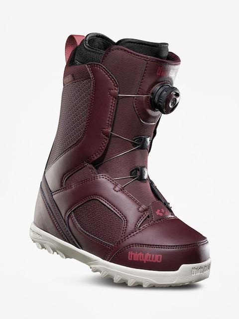 Snowboardová obuv ThirtyTwo Stw Boa Wmn (burgundy)