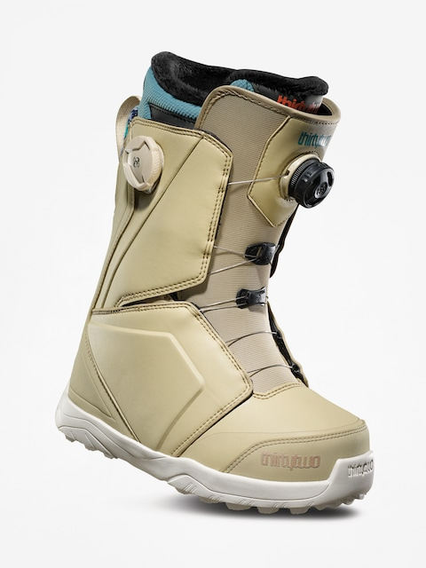 Snowboardová obuv ThirtyTwo Lashed Double Boa Wmn (tan/blue)