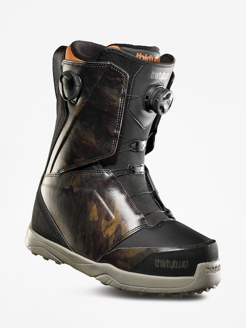 Snowboardová obuv ThirtyTwo Lashed Double Boa (black/camo)