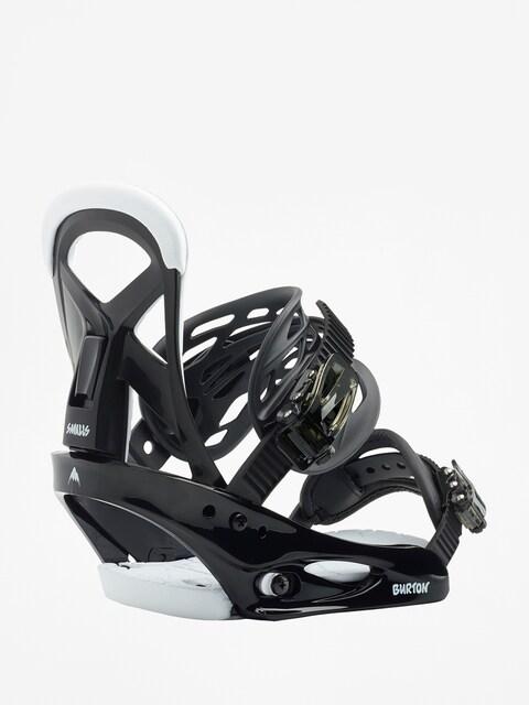 Snowboardové viazanie Burton Smalls (black)