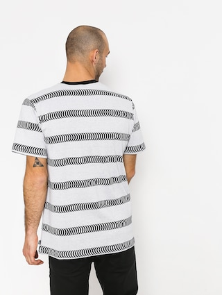 Tričko HUF Spitfire Striped Knit (white)