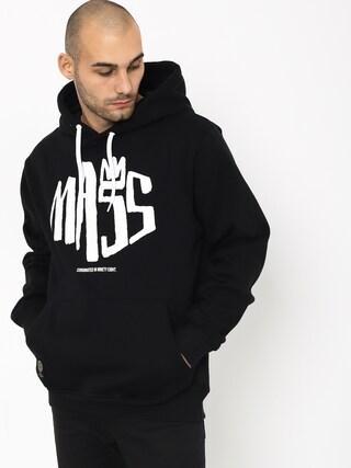 Mikina s kapucňou MassDnm Crown HD (black)