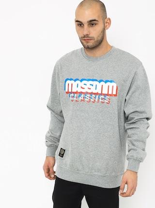 Mikina MassDnm Sacrifice (light heather grey)