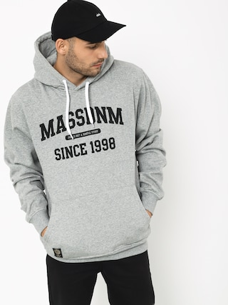 Mikina s kapucu0148ou MassDnm Campus HD (light heather grey)