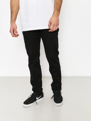 Nohavice Malita Chino Low Stride (black)