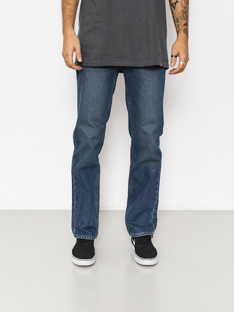 Nohavice Brixton Labor 5 Pkt Denim (worn indigo)