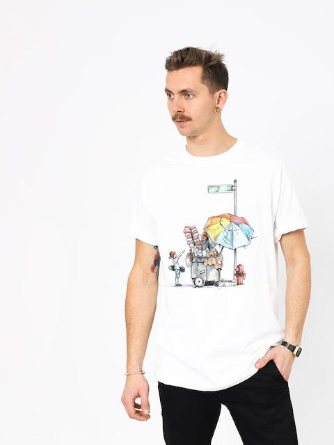 Tričko DGK Vendor (white)