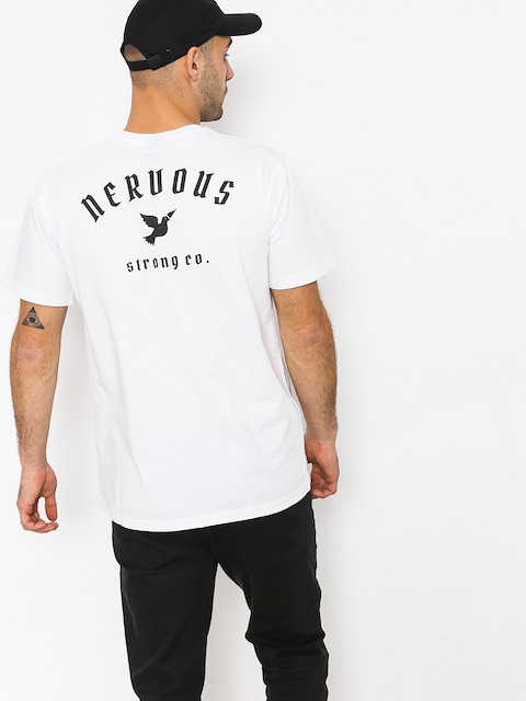 Tričko Nervous Ltd (white)